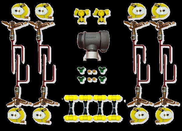 Sprinkler Kit cotents