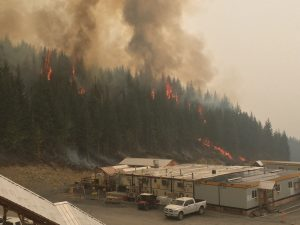 wildfire structure protection