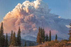 High to Extreme Fire Danger Ratings in BC
