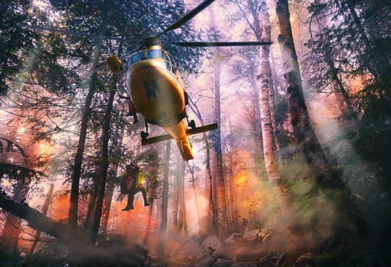 Fighting Wildfires Tactics