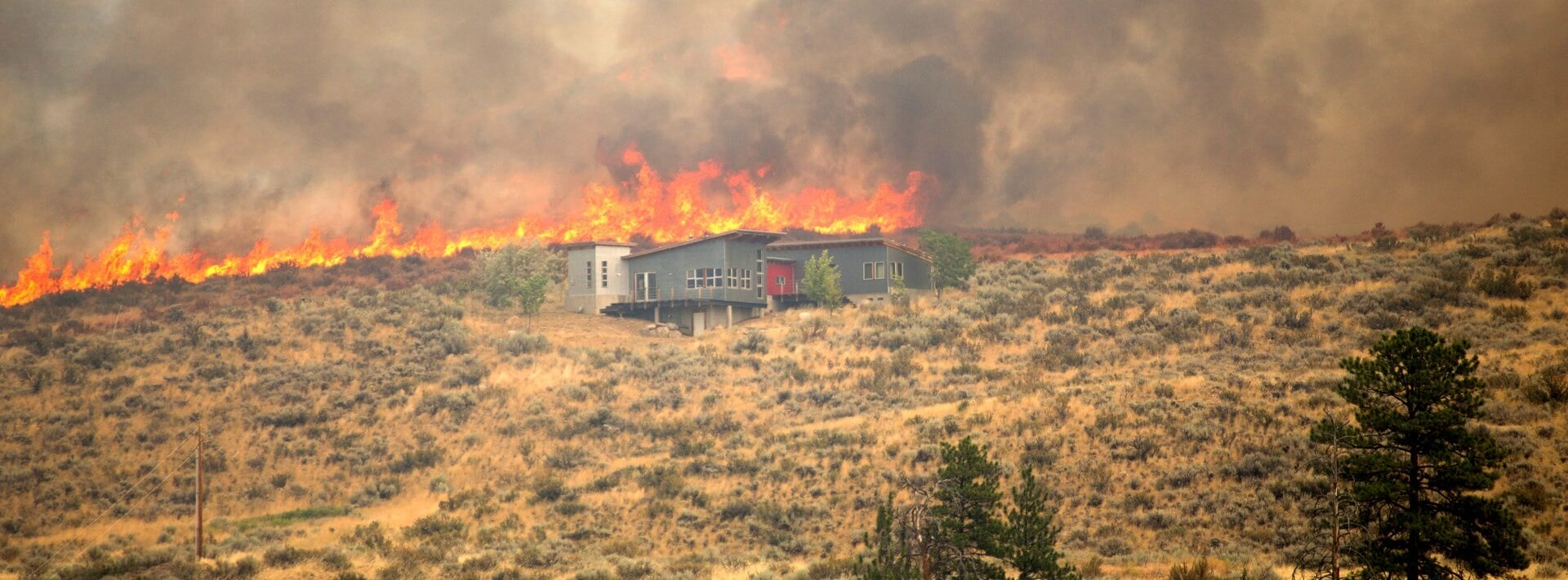 Wildfire protection system